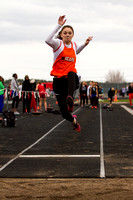Girls Track @ Stillwater 5-2-2014